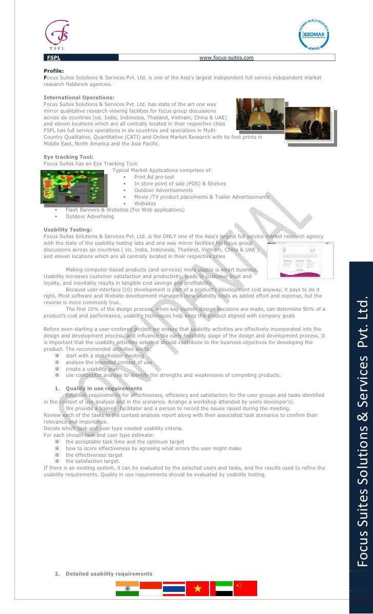 FSPL                                                            www.focus-suites.com  Profile:   Y     ocus Suites Solutio...