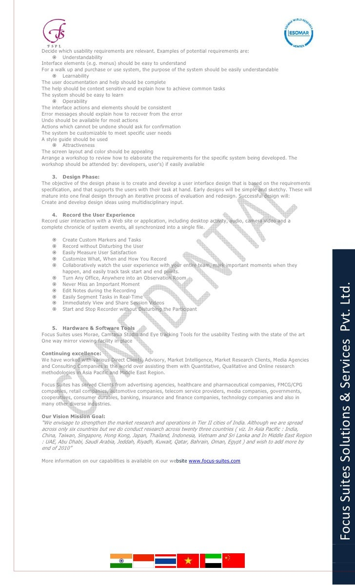 Online Panels - Focus Suites Solutions And Services pvt. ltd. Market research credentials Slide 2