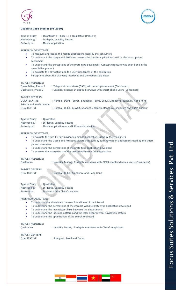 Online Panels - Focus Suites Solutions And Services pvt. ltd. Market research credentials Slide 3
