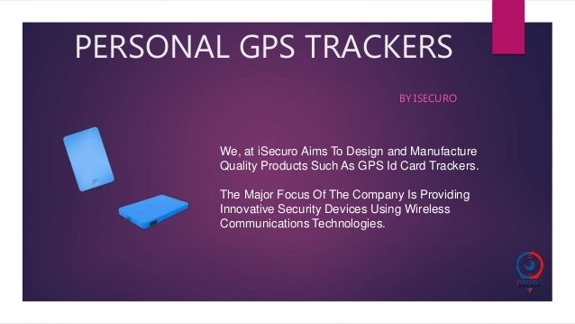 GPS Tracking Device by iSecuro
