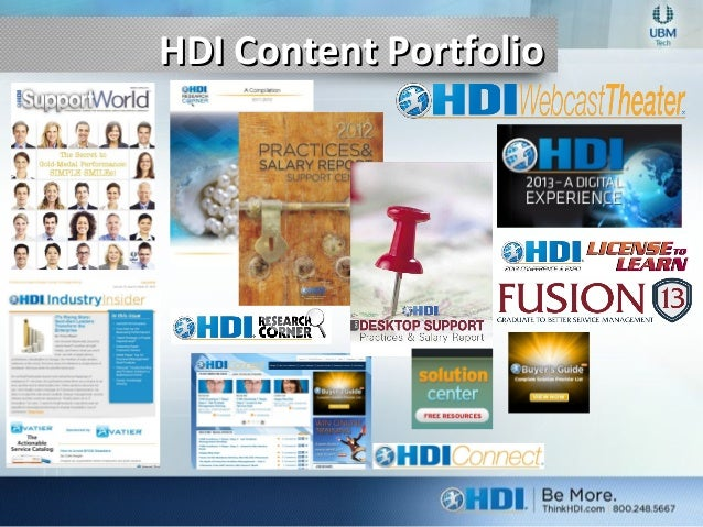 The Value Of Hdi 2013
