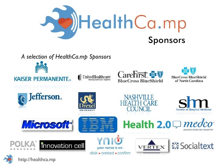 Sponsors A selection of HealthCa.mp Sponsorshttp://healthca.mp