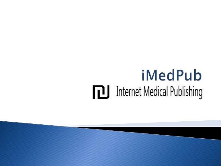 iMedPub<br />