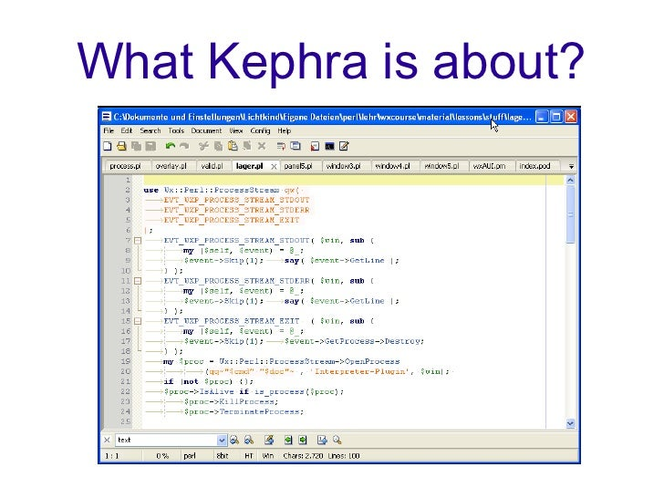 What Kephra is about?