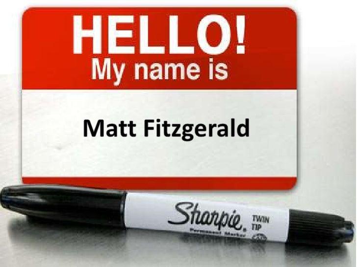 Matt Fitzgerald<br />