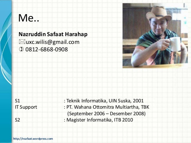 About me & about course mobile applicaton development Slide 3