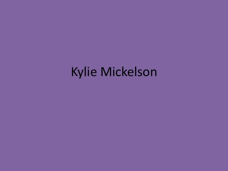 Kylie Mickelson
