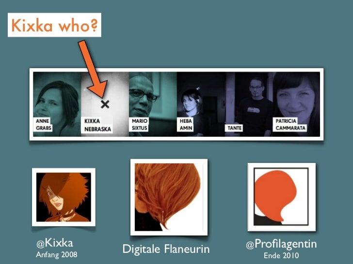 About me - Die digitale Fassade. Identitätskonstruktion im Netz Slide 2