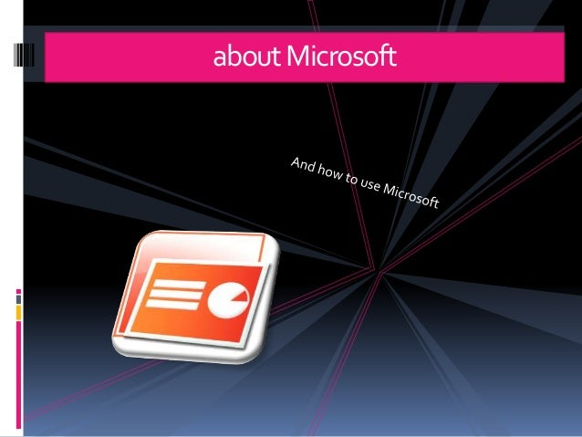 aboutMicrosoft