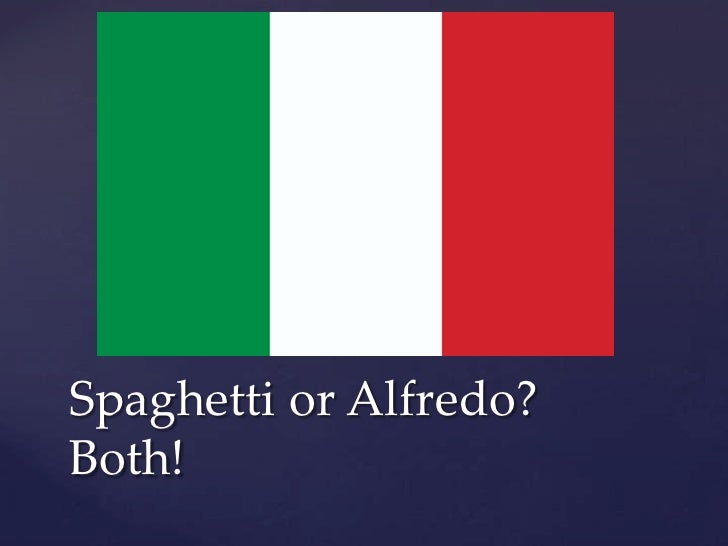 Spaghetti or Alfredo?Both!