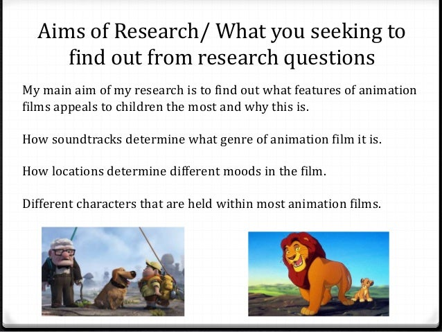 Aims of Research/ What you seeking to  find out from research questions  My main aim of my research is to find out what fe...
