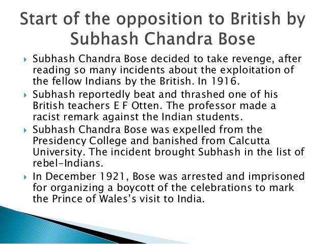 essay on netaji subhash chandra bose for kids Netaji subhash chandra bose was a great freedom fighter short paragraph on subhash chandra bose category: essays, paragraphs and.