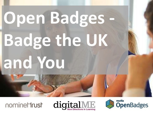 Open Badges - Badge the UK and You