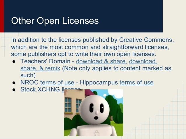About Open Licenses
