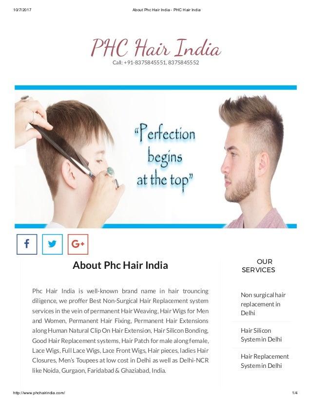 About Phc Hair India Phc Hair India