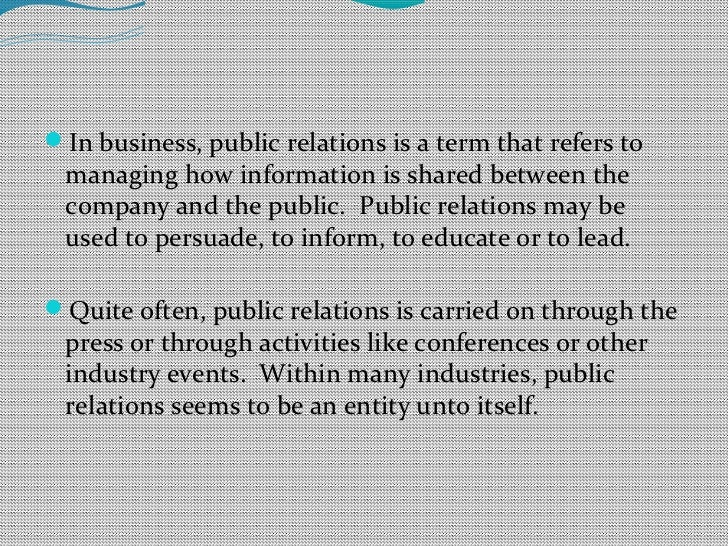 Public Relations and Marketing for Insurance Companies
