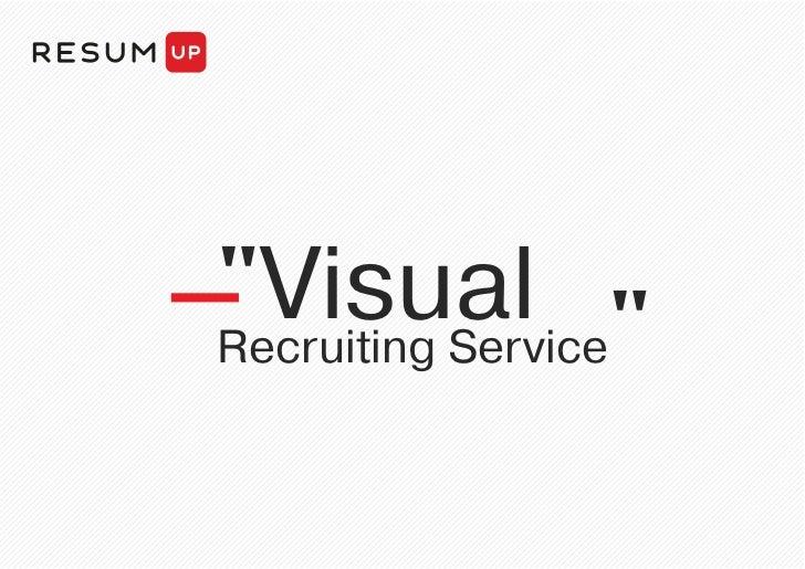 """Visual ""Recruiting Service"