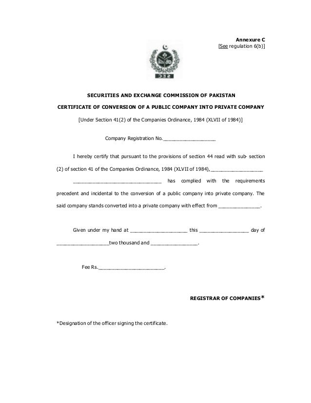 About secp the companies registration offices regulations20035 21 yadclub Choice Image