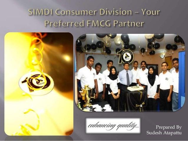 SIMDI Consumer Products Division
