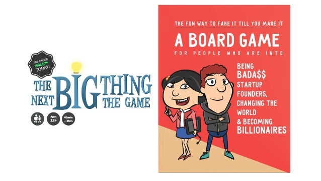 #1 Board Game For Entrepreneurship & Venture Capital Take on the role of a startup founder and go through the exciting ent...