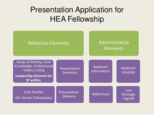 hea senior fellow case studies