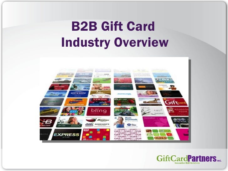 B2B Gift Card  Industry Overview