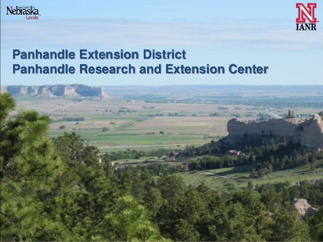 Panhandle Extension District Panhandle Research and Extension Center