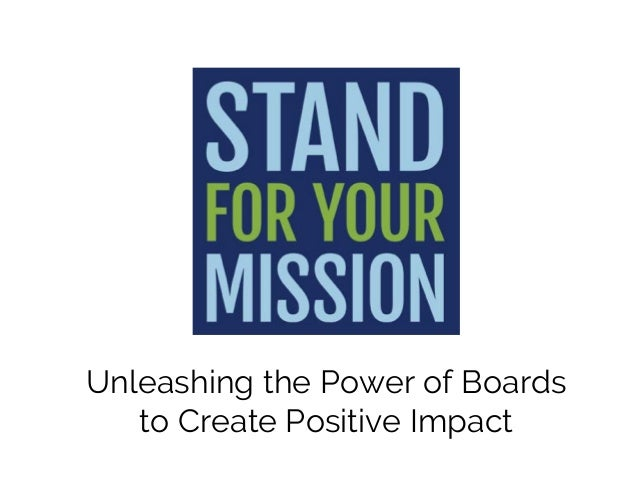 Unleashing the Power of Boards to Create Positive Impact