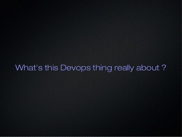 Devops is not about Tooling Slide 3