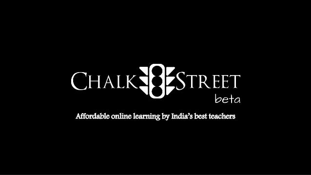 Affordable online learning by India's best teachers