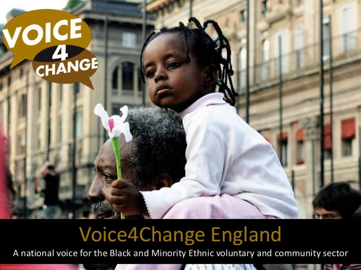 Voice4Change England<br />A national voice for the Black and Minority Ethnic voluntary and community sector<br />