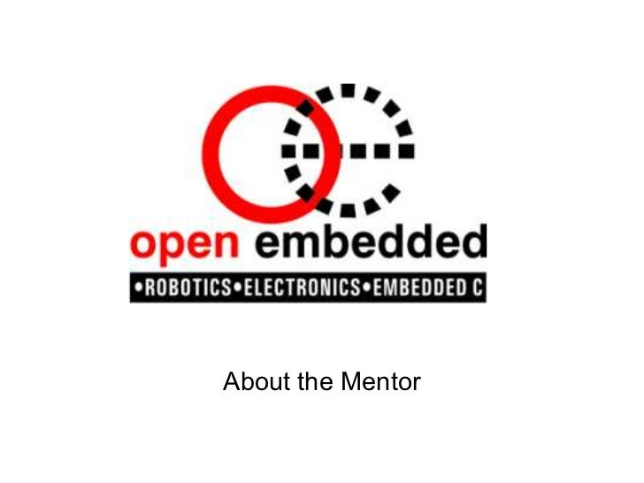 About the Mentor