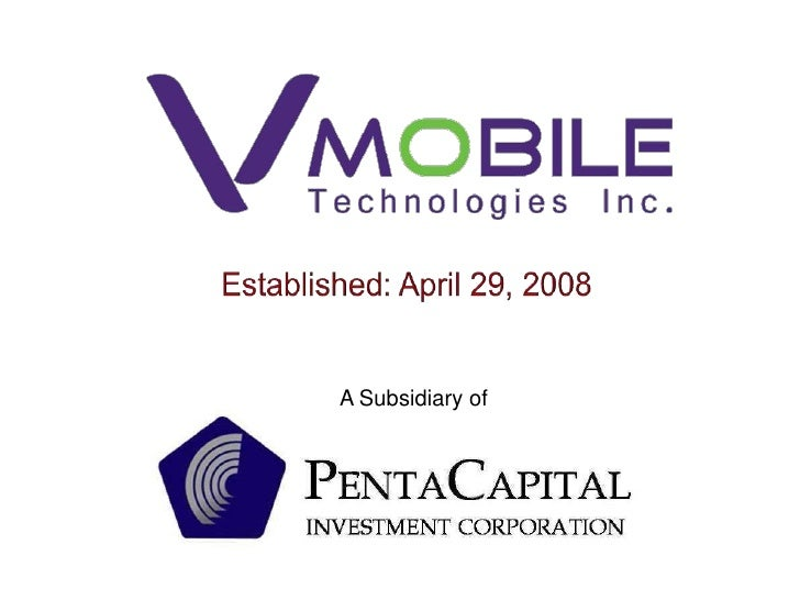 Established: April 29, 2008<br />A Subsidiary of<br />