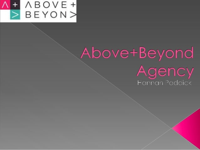 Above+Beyond was founded in September 2012 and began building a creative agency with a singular focus of approach: brand r...