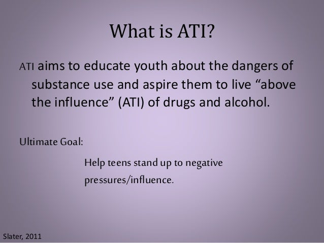 a study of persuasion and its used in the national drug youth anti drug media campaign A 2008 study published in the american journal of public health looked at the effectiveness of the national youth anti-drug media campaign, which ran from 1998 and 2004 and cost $1 billion it.