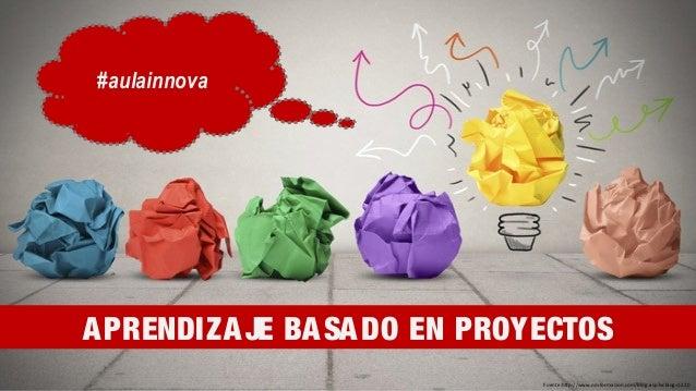 Fuente:http://www.nmformacion.com/blog.asp?vcblog=1220 APRENDIZAJE BASADO EN PROYECTOS #aulainnova