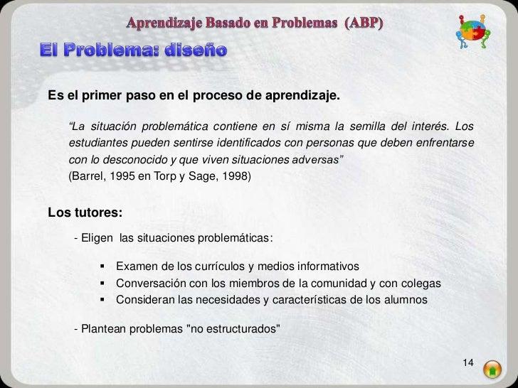 """Es el primer paso en el proceso de aprendizaje.   """"La situación problemática contiene en sí misma la semilla del interés. ..."""
