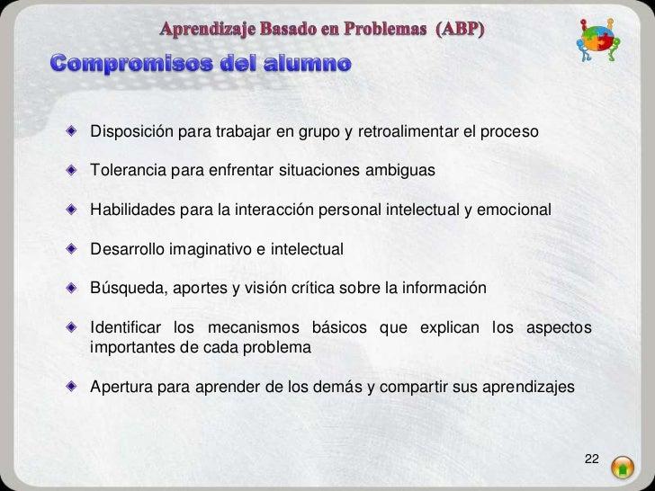 Disposición para trabajar en grupo y retroalimentar el procesoTolerancia para enfrentar situaciones ambiguasHabilidades pa...