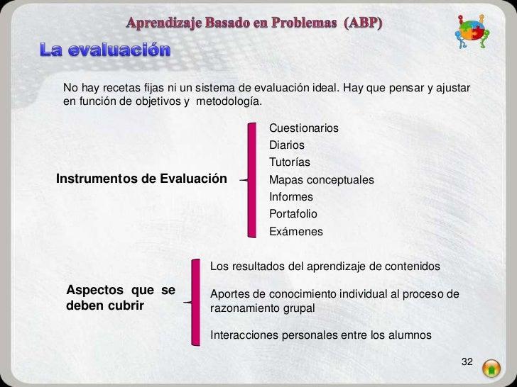 No hay recetas fijas ni un sistema de evaluación ideal. Hay que pensar y ajustar en función de objetivos y metodología.   ...