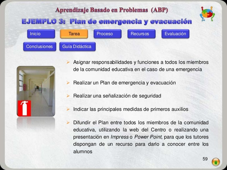 Inicio           Tarea         Proceso     Recursos       EvaluaciónConclusiones   Guía Didáctica                 Asignar...