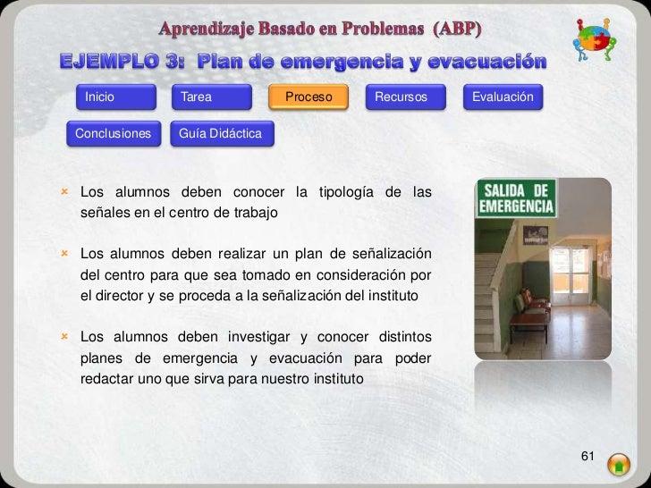 Inicio         Tarea            Proceso       Recursos    Evaluación  Conclusiones    Guía Didáctica Los alumnos deben co...