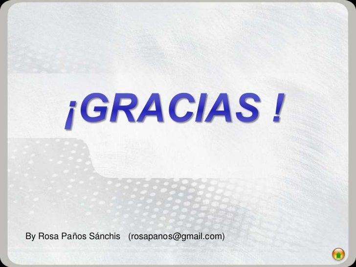 By Rosa Paños Sánchis (rosapanos@gmail.com)