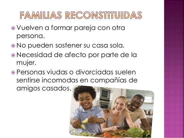 Diapositivas tipos de familias
