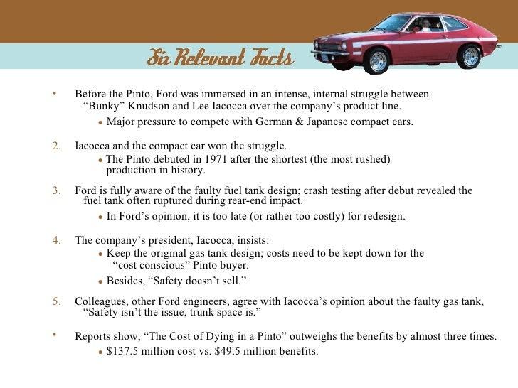 ford pinto case study pdf