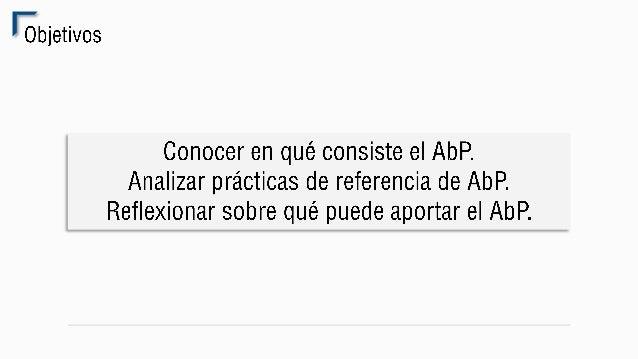 AbP en el IES Margarita Salas (Sevilla)