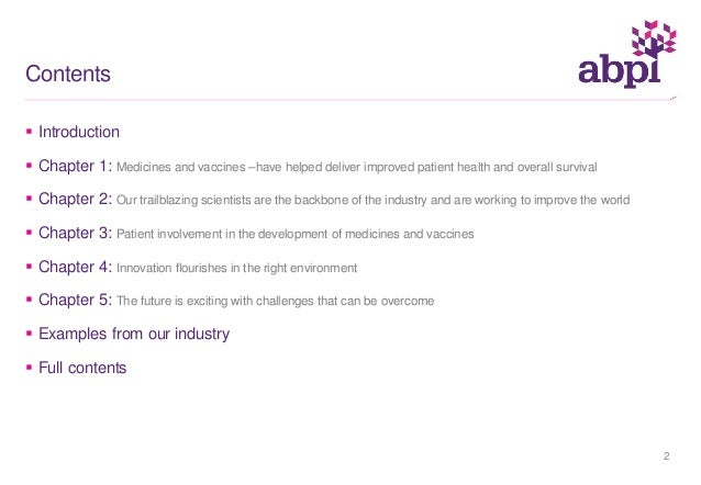 An update on the UK research based pharmaceutical industry Slide 2