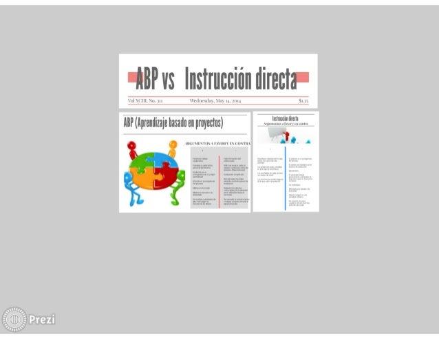Abp vs Instrucción Directa
