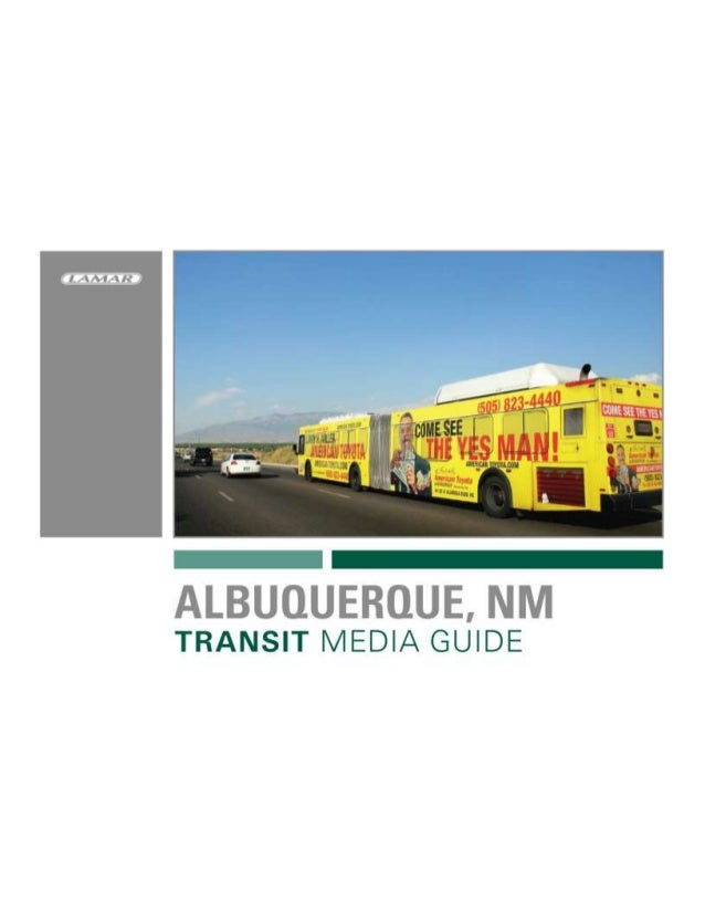 Albuquerque Bus Advertising-Lamar Transit Advertising