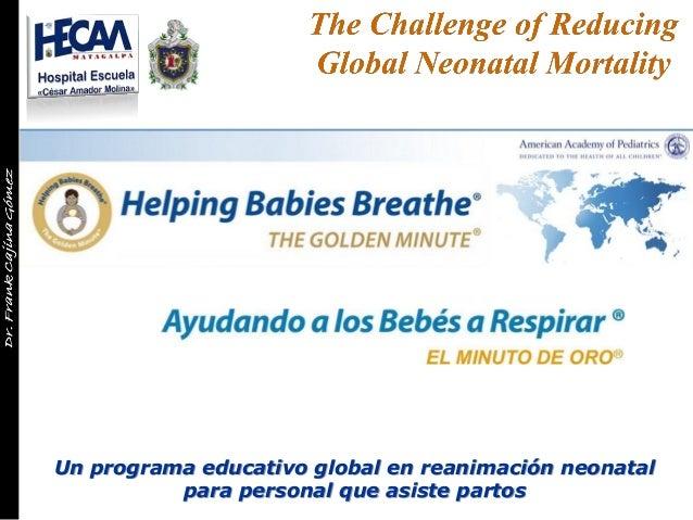 Un programa educativo global en reanimación neonatal para personal que asiste partos