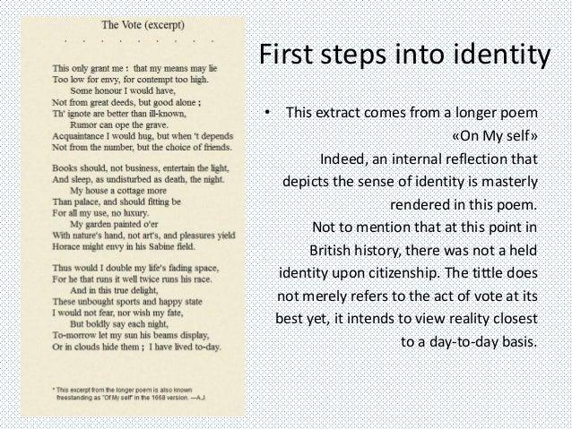 first steps poem